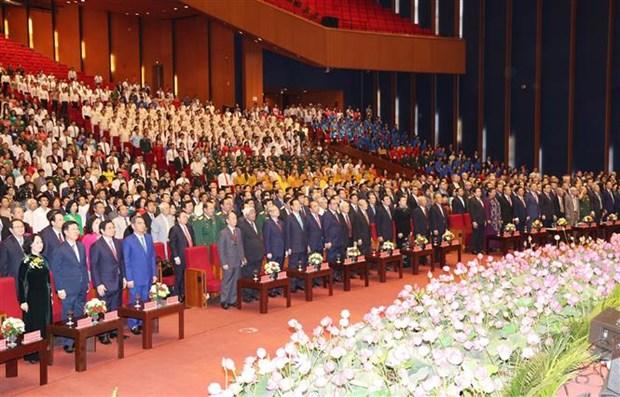 Le chef du Parti et de l'Etat rend hommage au President Ho Chi Minh hinh anh 2