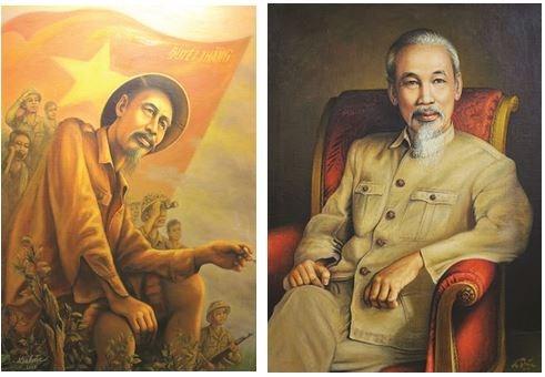 Ho Chi Minh, la passion d'un peintre portraitiste hinh anh 2