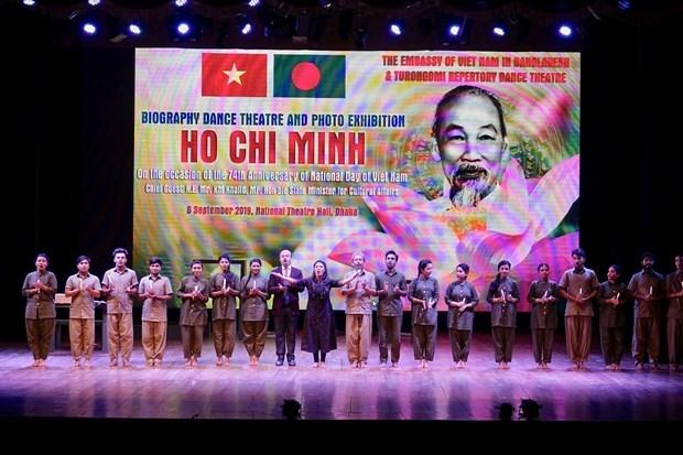 La choregraphe bangladaise Pooja Sengupta sur les traces de Ho Chi Minh hinh anh 2