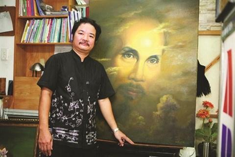 Ho Chi Minh, la passion d'un peintre portraitiste hinh anh 1