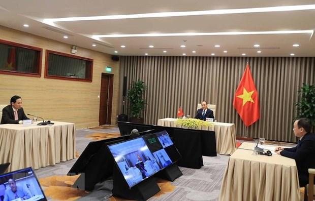 Le PM Nguyen Xuan Phuc participe a la 73e Assemblee mondiale de la sante hinh anh 1