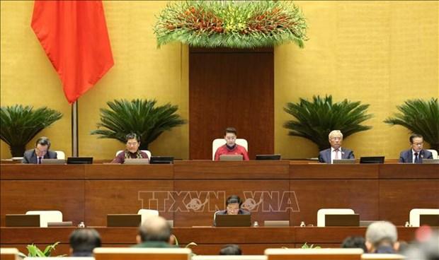 Premier jour de travail de la 9e session de l'AN (XIVe legislature) hinh anh 1
