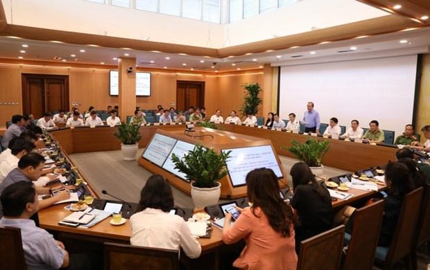 Le vice-PM Truong Hoa Binh appelle a aneantir le trafic illegal et la fraude commerciale hinh anh 1