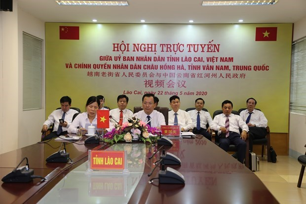 Lao Cai renforce sa cooperation avec une localite du Yunnan hinh anh 1