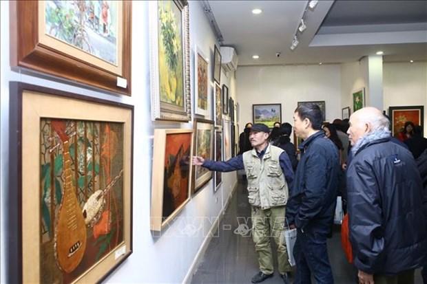 La 25e exposition annuelle des beaux-arts de Hanoi se tiendra en aout hinh anh 1