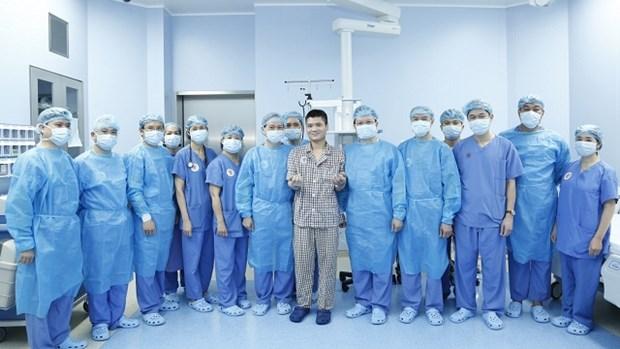 Le Vietnam reussit la premiere greffe de l'avant-bras a partir d'un donneur vivant hinh anh 1