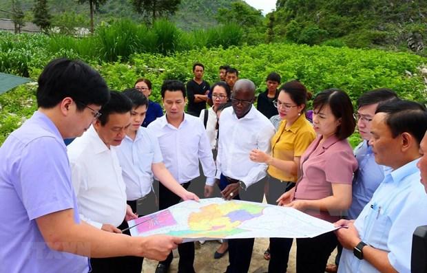 Ha Giang et la Banque mondiale signent un cadre de cooperation strategique pour 2020-2025 hinh anh 1