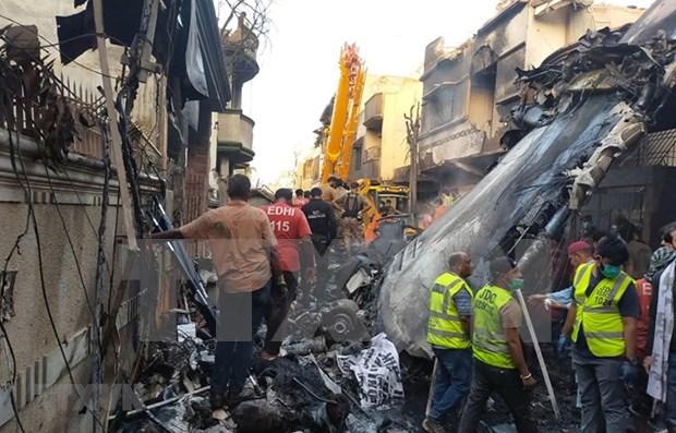 Message de condoleances du Vietnam au Pakistan suite au crash d'un avion hinh anh 1