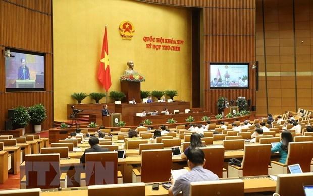 Sixieme jour de travail de la 9eme session de l'AN (14e legislature) hinh anh 1