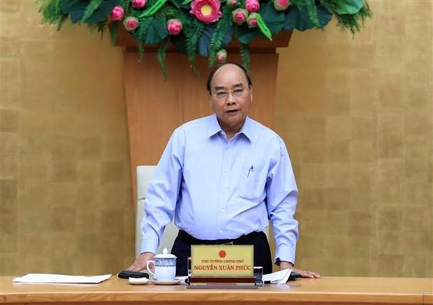 Le PM demande aux regions economiques cles de prendre les devants hinh anh 1