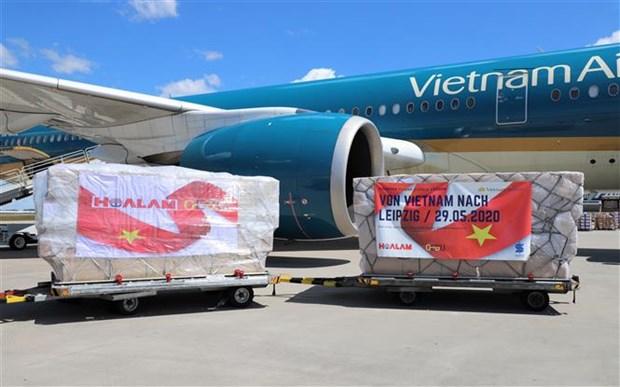 COVID-19 : Leipzig (Allemagne) apprecie les assistances d'entreprises vietnamiennes hinh anh 1