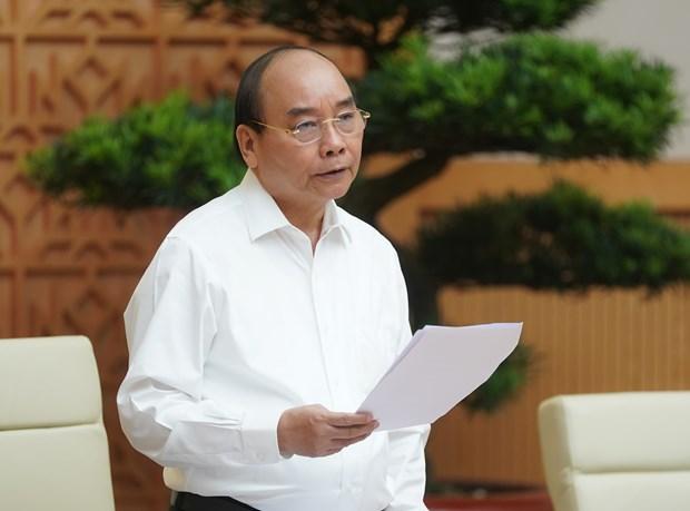 Le PM appelle a realiser le mieux possible les objectifs fixes pour 2020 hinh anh 1