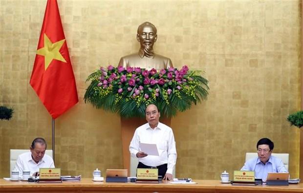 Reunion periodique de mai du gouvernement hinh anh 1