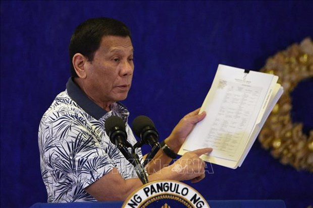 Les Philippines adoptent une nouvelle loi antiterroriste hinh anh 1