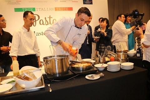 La cuisine italienne a l'honneur a Ho Chi Minh-Ville hinh anh 2