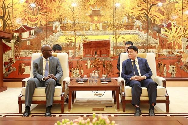 Hanoi travaille avec des representants de la Banque mondiale hinh anh 1