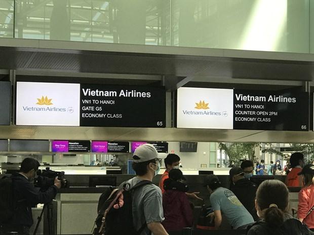 Coronavirus : plus de 340 citoyens vietnamiens rapatries des Etats-Unis hinh anh 1