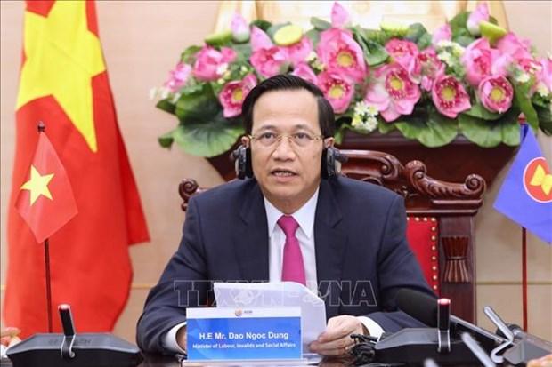 Resserrer la cooperation de l'ASEAN pour minimiser l'impact du COVID-19 sur les vulnerables hinh anh 1