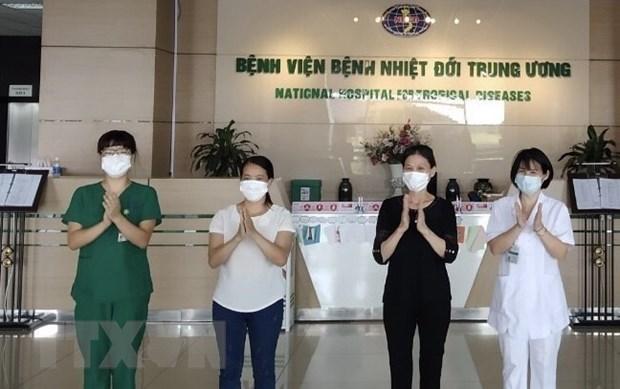 COVID-19 : le Vietnam n'a enregistre aucune nouvelle infection locale en 55 jours hinh anh 1