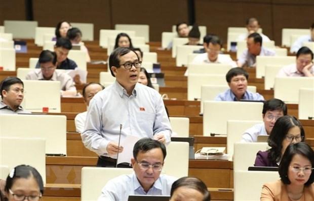 L'Assemblee nationale discute samedi de la situation socio-economique hinh anh 1