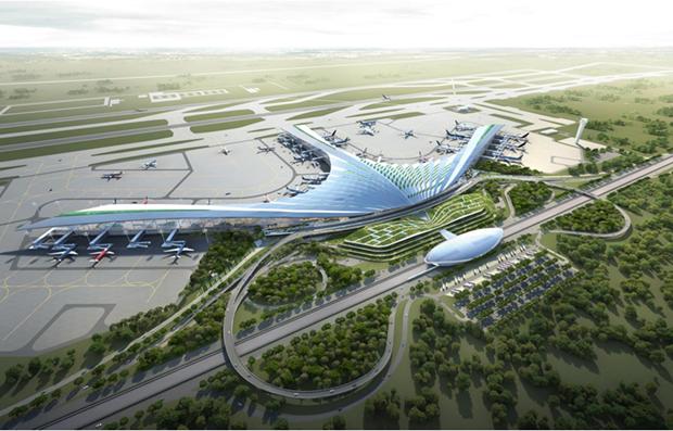 Aeroport de Long Thanh : le PM demande de presser le pas hinh anh 1