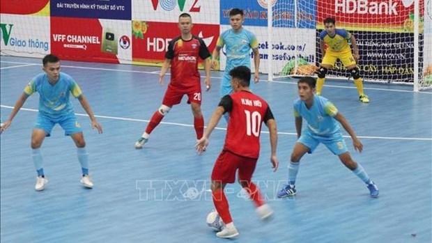 Le Championnat national de futsal 2020 debute a Khanh Hoa hinh anh 1