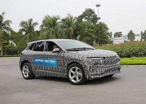 VinFast devoilerait sa premiere voiture electrique au Salon automobile de Los Angeles hinh anh 1