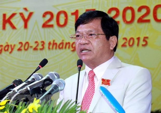 Sanction disciplinaire a l'encontre d'un dirigeant de Quang Ngai hinh anh 1