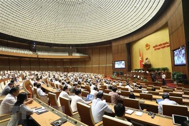 Le 17 juin, l'Assemblee nationale adopte quatre lois hinh anh 1