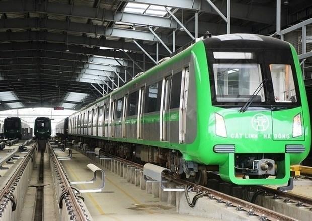 Train Cat Linh-Ha Dong : l'entrepreneur general chinois de retour hinh anh 1