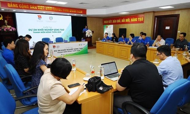 """Lancement du concours """"Projets creatifs des jeunes ruraux"""" hinh anh 1"""