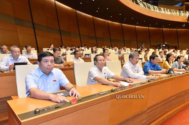Les deputes votent le texte sur la lute contre les catastrophes naturelles et les digues hinh anh 1