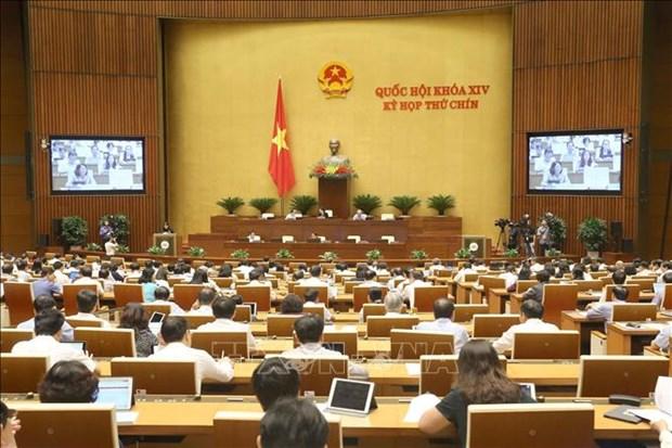 9e session de la XIVe legislature de l'AN : Les deputes approuvent plusieurs resolutions hinh anh 1