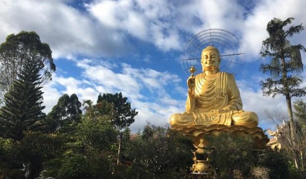 Le monastere zen de Van Hanh a Da Lat hinh anh 2