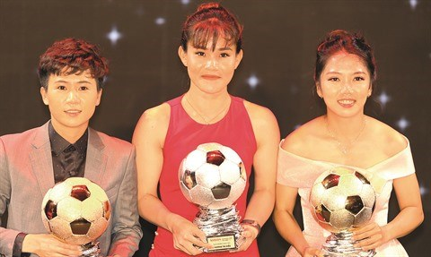 L'attaquante Huynh Nhu, pour l'amour du football feminin hinh anh 2