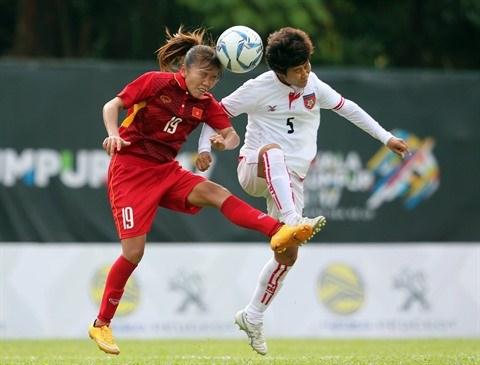 L'attaquante Huynh Nhu, pour l'amour du football feminin hinh anh 3