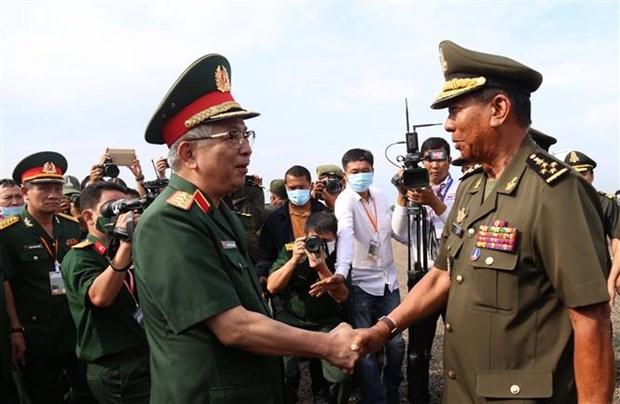 Le Vietnam reaffirme ses liens d'amitie etroits avec le Cambodge hinh anh 1