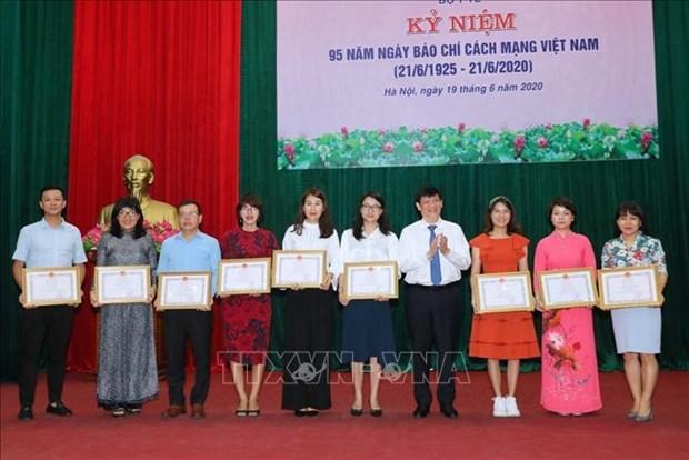 La VNA honoree pour sa couverture de la lutte anticoronavirus hinh anh 1