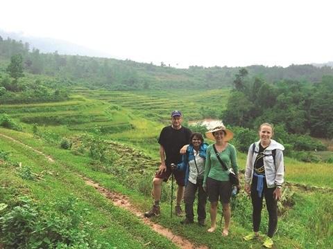 Errance dans la Reserve naturelle de Pu Luong a la saison du riz mur hinh anh 2