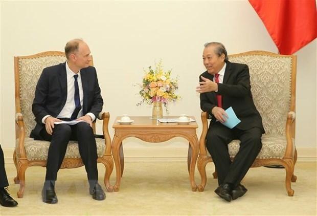 Le Vietnam veut cooperer avec des pays dans le developpement de la chaine d'approvisionnement hinh anh 1