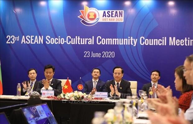 La 23e conference du Conseil de la communaute socio-culturelle de l'ASEAN hinh anh 1