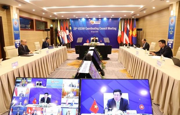 ASEAN : adoption de six rapports du secretaire general de l'ASEAN et des Communautes hinh anh 1