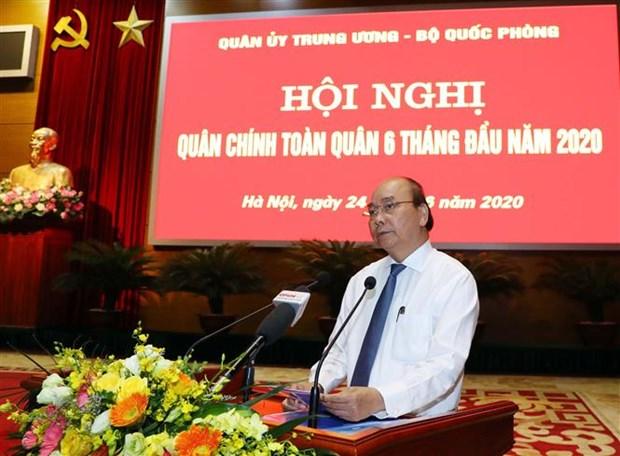 Le PM demande de relever le defi de l'edification et de la defense de la Patrie hinh anh 1