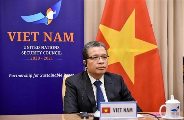 Le Vietnam appelle a relancer le processus de paix au Moyen-Orient hinh anh 1