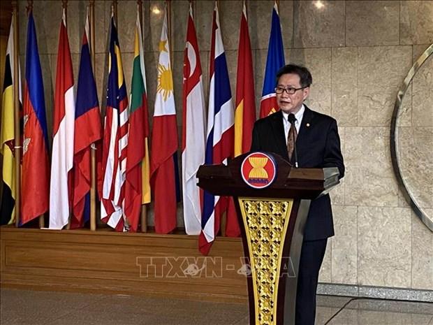 Le secretaire general de l'ASEAN apprecie la presidence vietnamienne hinh anh 1