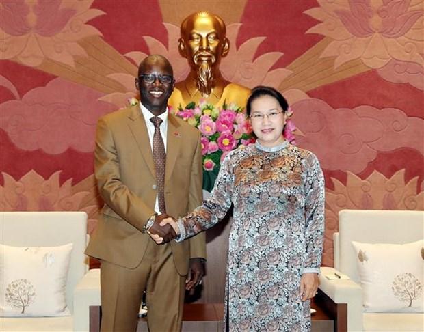 La presidente de l'AN recoit le directeur national de la BM au Vietnam hinh anh 1