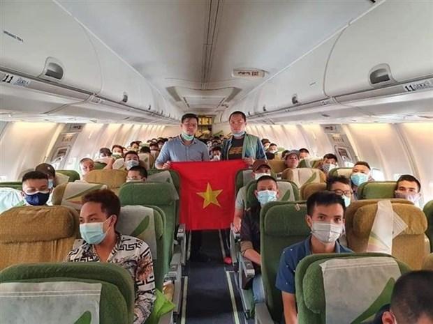 Des ressortissants vietnamiens rapatries de Malaisie et d'Afrique hinh anh 1