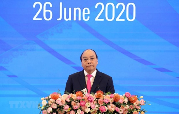 Le Vietnam appelle a une cooperation accrue de l'ASEAN contre le Covid-19 hinh anh 1