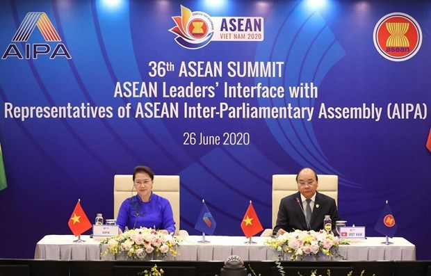 Le Vietnam exhorte l'AIPA et l'ASEAN a approfondir leur partenariat hinh anh 1