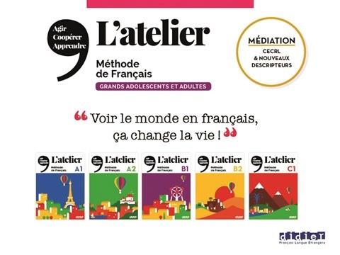 """Bienvenue dans """"L'Atelier"""" des Editions Didier FLE hinh anh 1"""